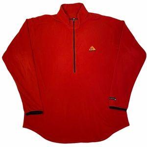 Nike ACG Fleece Pullover 1/2 Zip Red XXL Swoosh